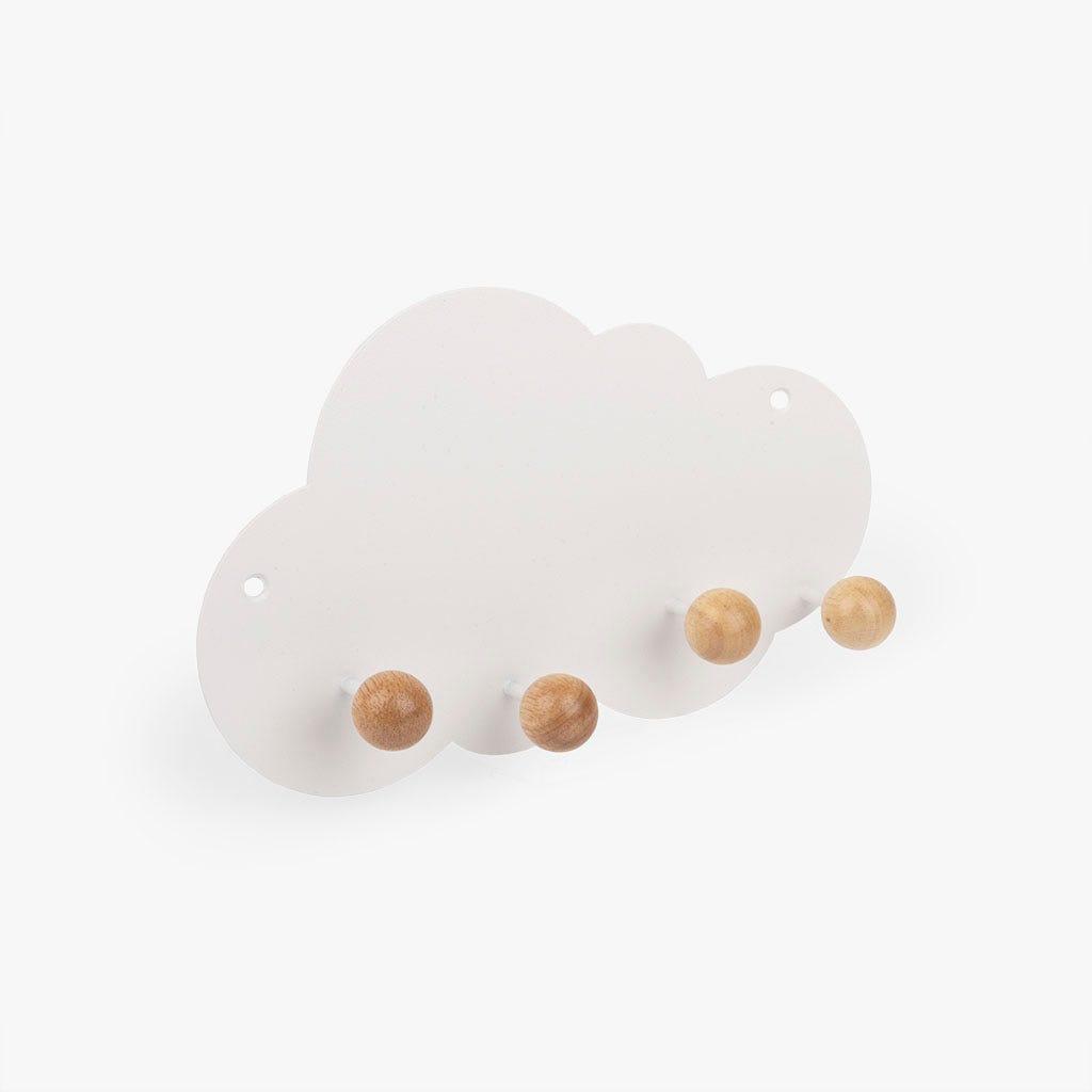 Cabide (ganchos) Nuvem branca