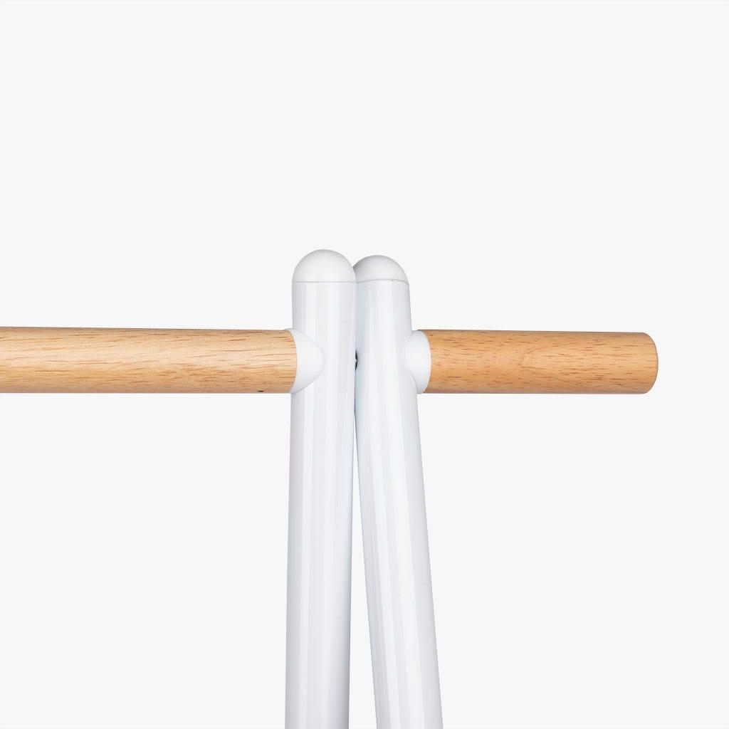 Estante Charriot branco 90x41x156 cm