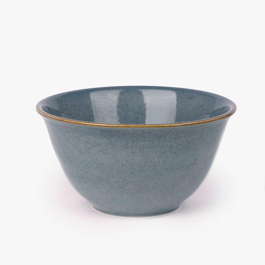 Saladeira Porto Covo Grés fino Azul 29 cm