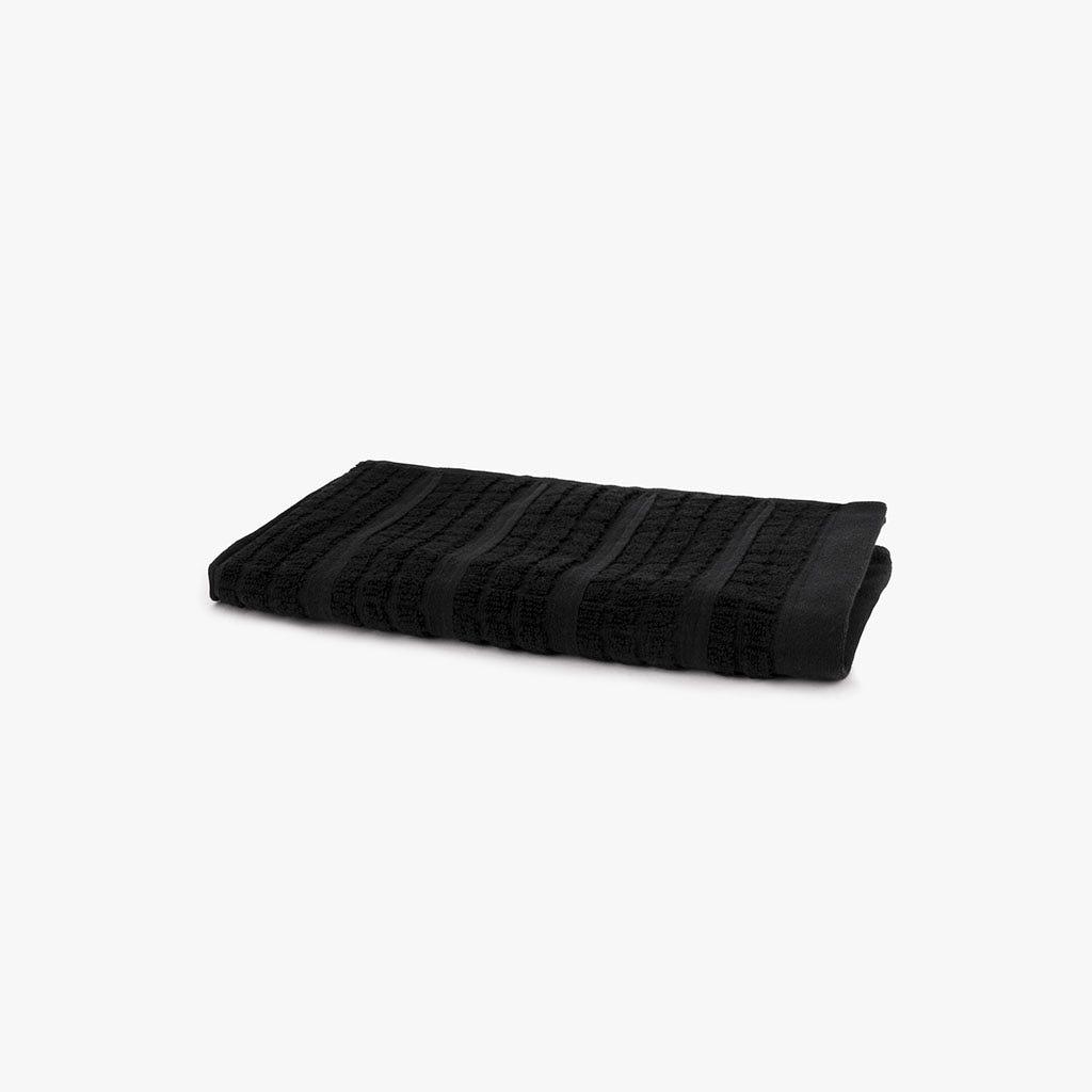 Toalha de Banho Chiara preto 30x50 cm