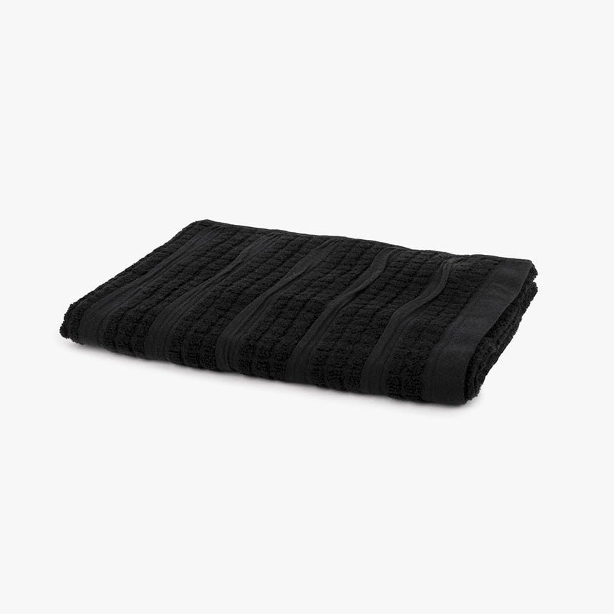 Toalha de Banho Chiara preto 50x90 cm