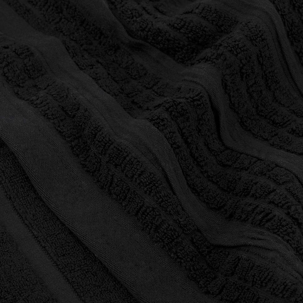 Toalha de Banho Chiara preto 100x150 cm