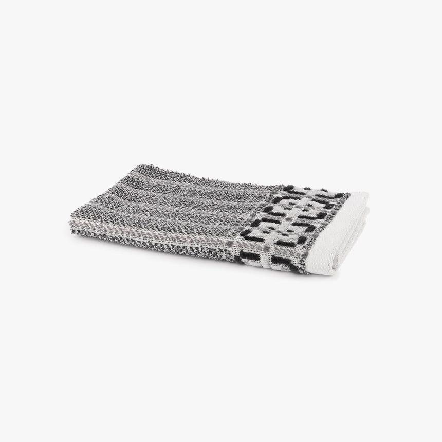 Toalha de Banho Dechart preto 30x50 cm