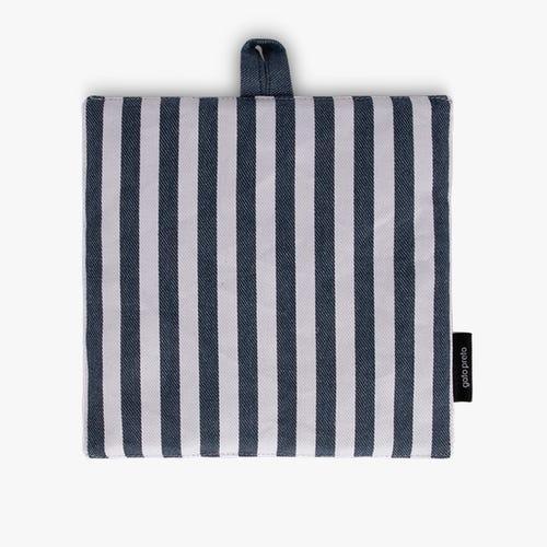 Pot Holder Aveiro Stripes White and Blue 21x21 cm