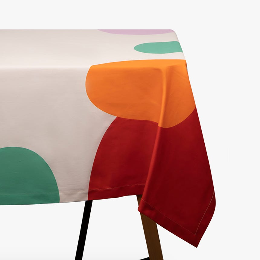 Toalha de mesa Holi 150x150 cm