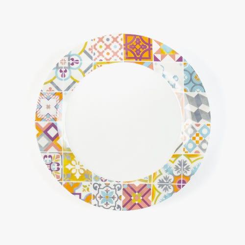 Assiette Plate 20Ties Remix