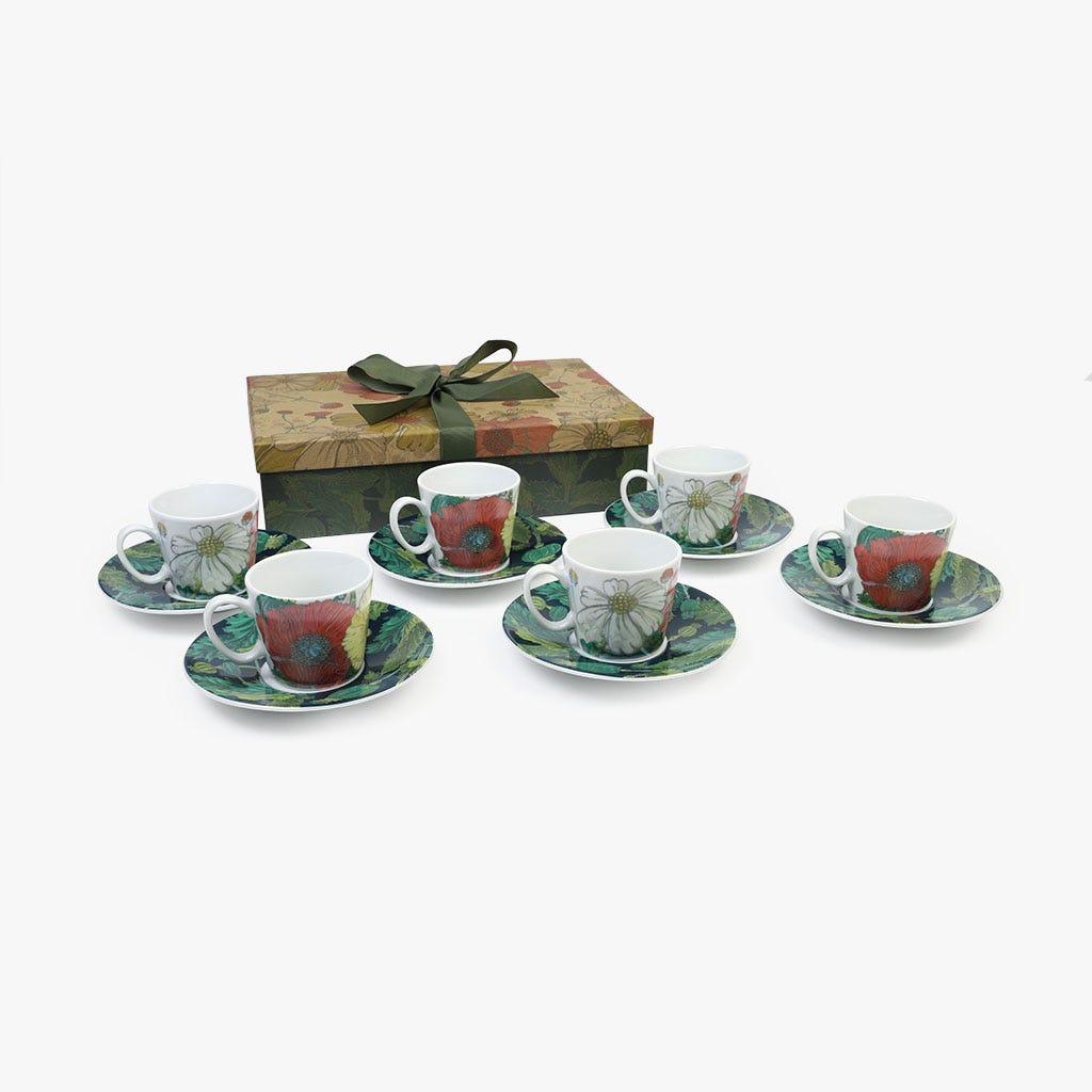 Chávena de Café Poppy (conjunto6)