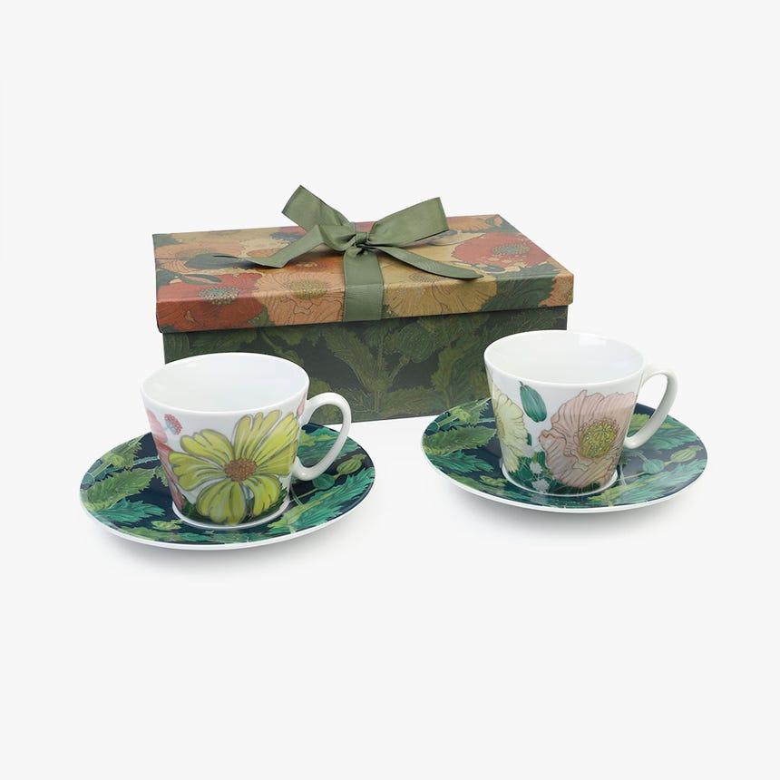 Chávena de Chá Poppy (conjunto2)