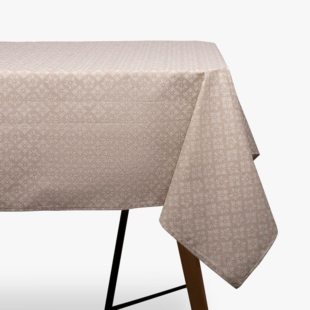 Toalha de mesa Martina flor 150x150 cm
