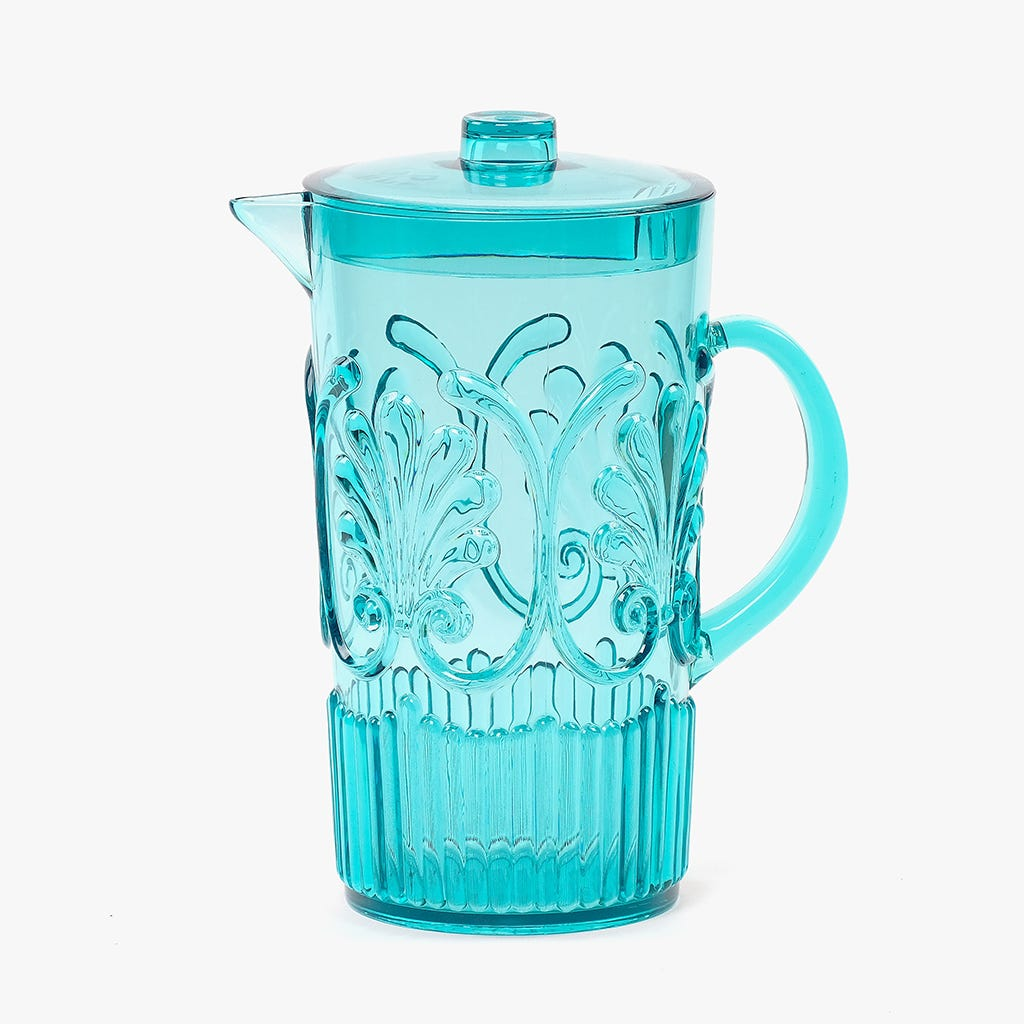 Jarro Acanto acrílico Azul 2600 ml