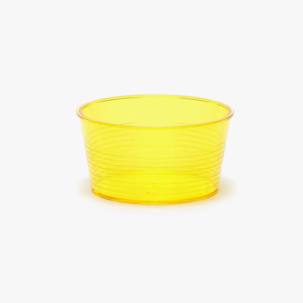 Taça acrílico Neon Amarelo