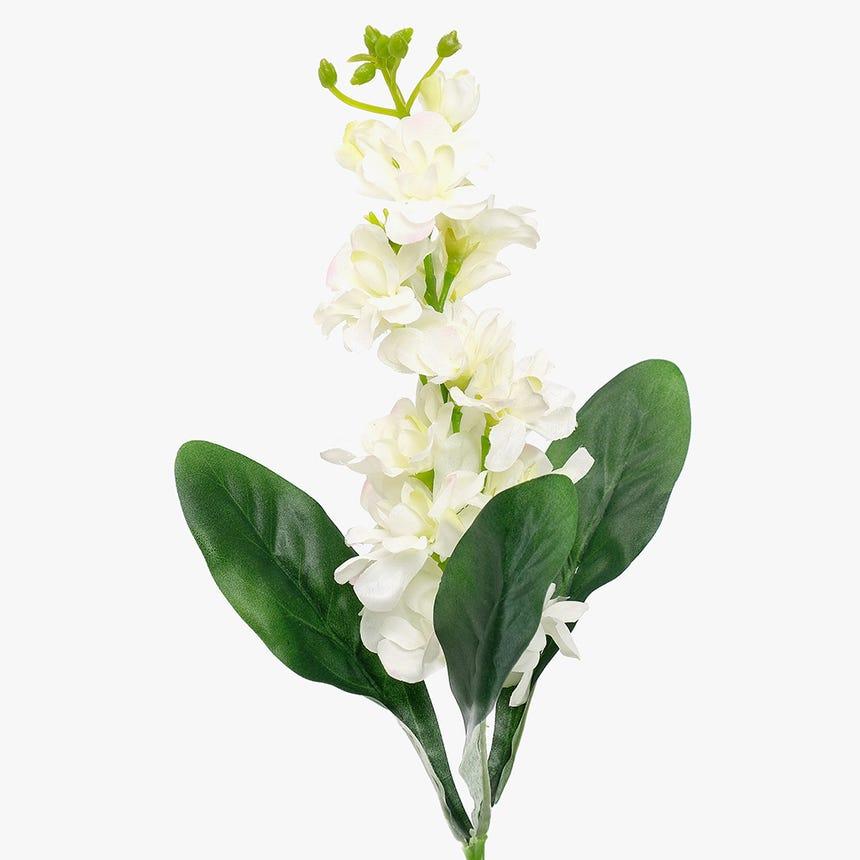 Delphinium Branco 51 cm