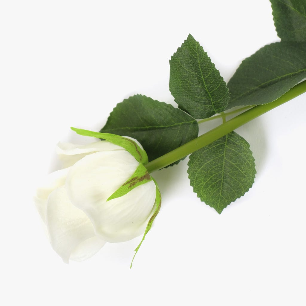 Rosa Branca 43 cm