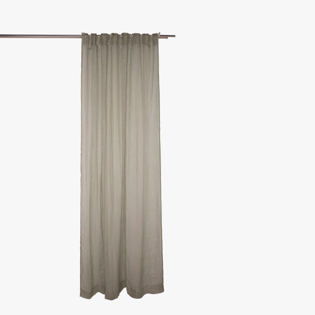 Cortinado Nepal Linho Cinza 140x270 cm