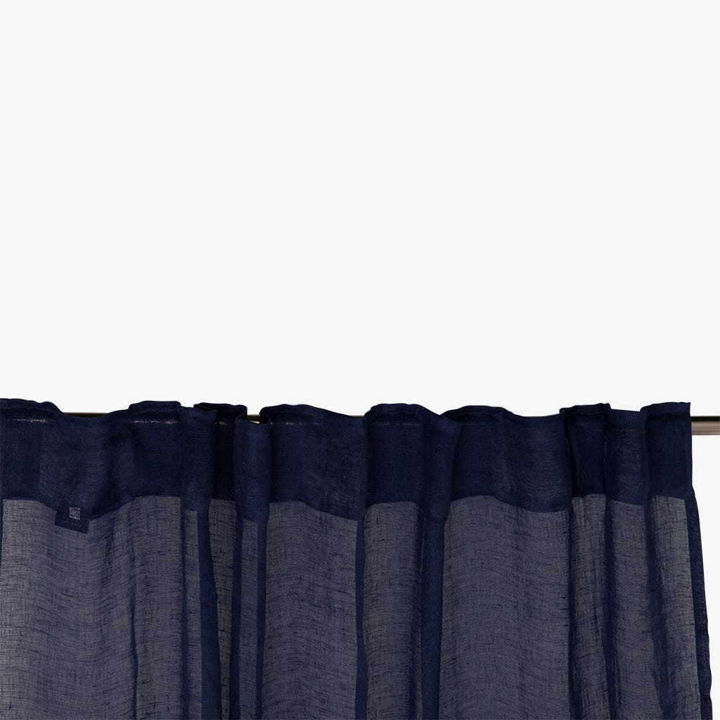 Cortinado Nepal Linho Azul 140x270 cm