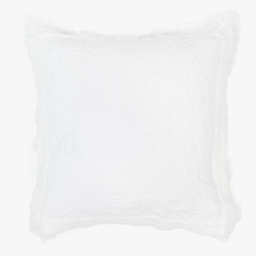Capa de Almofada Paris Branca 60x60+5 cm