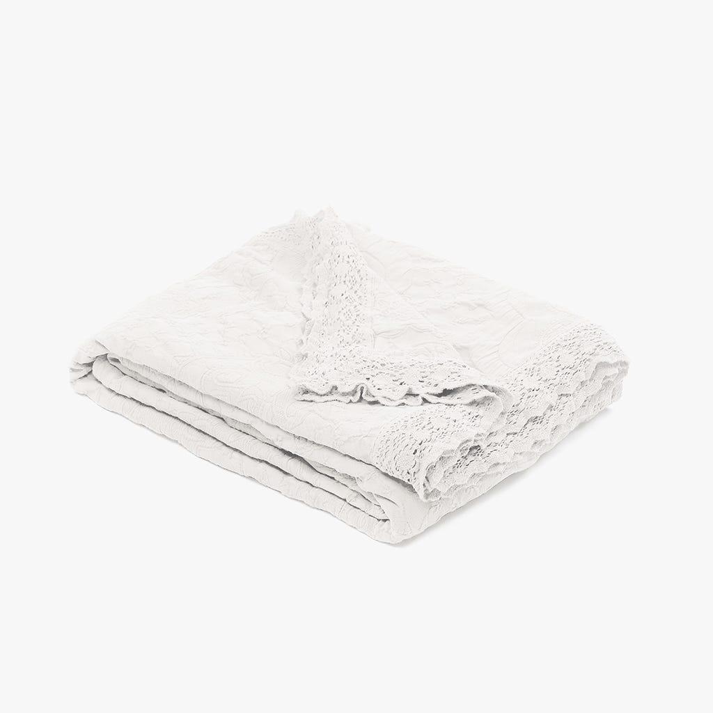 Colcha Paris Branco 180x250 cm