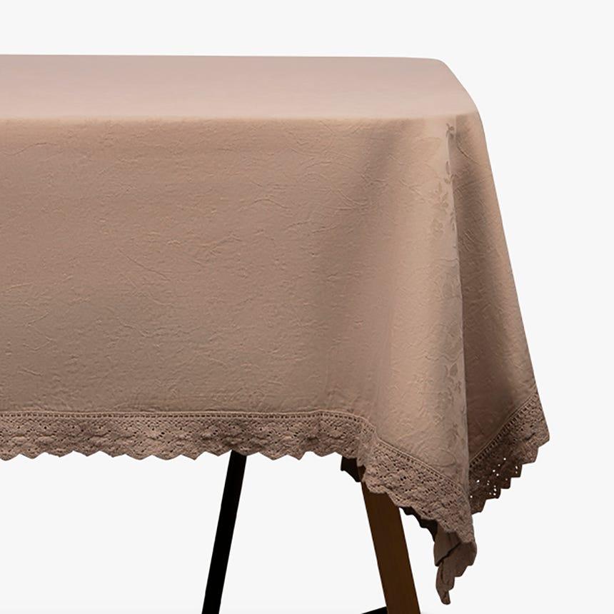 Toalha de mesa Paris linho 150x150 cm