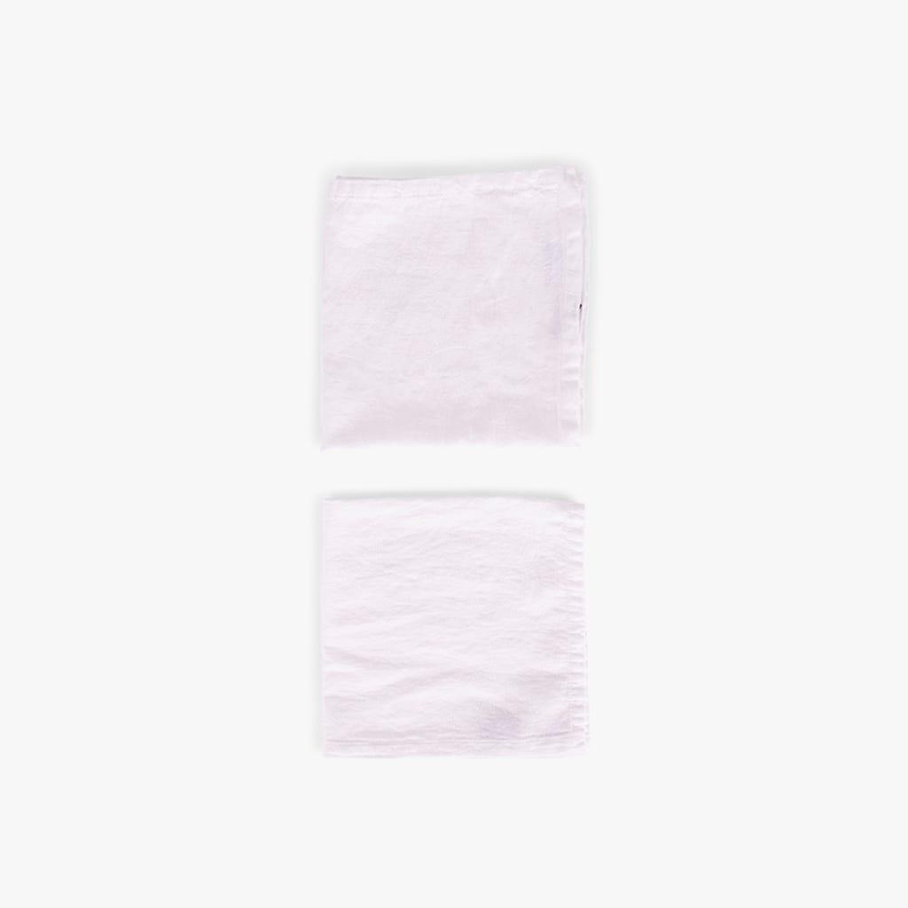 Servilleta Paris Blanco 45x45 cm (juego 2)