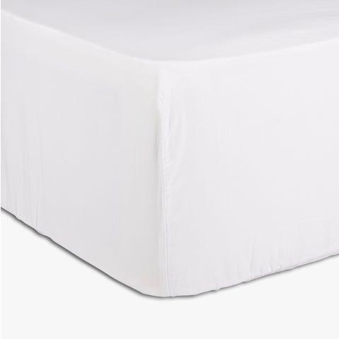 Jeté de lit Réglable Paris Blanc 90x200 cm