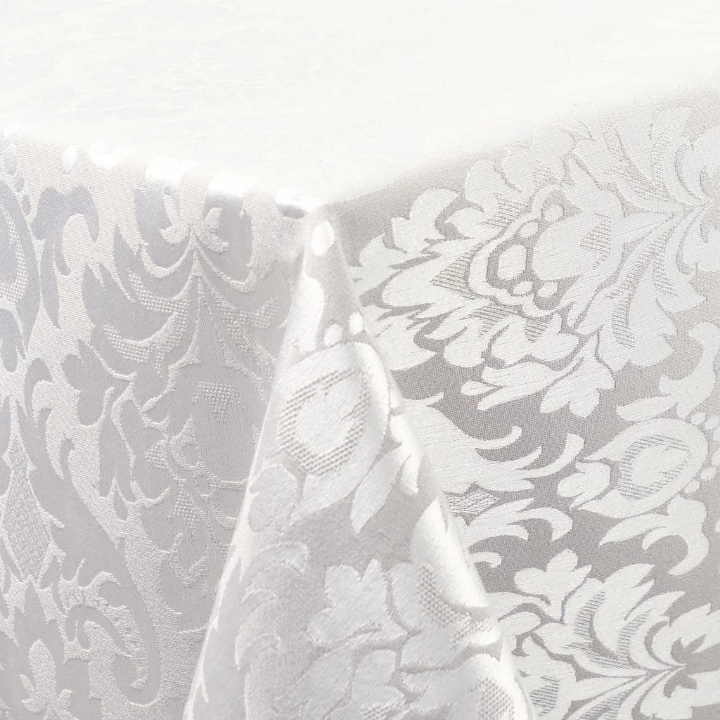 Toalha de Mesa Prateada 140x140 cm