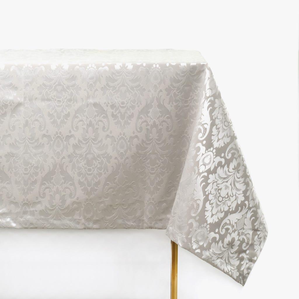 Toalha de Mesa Prata 160x250 cm