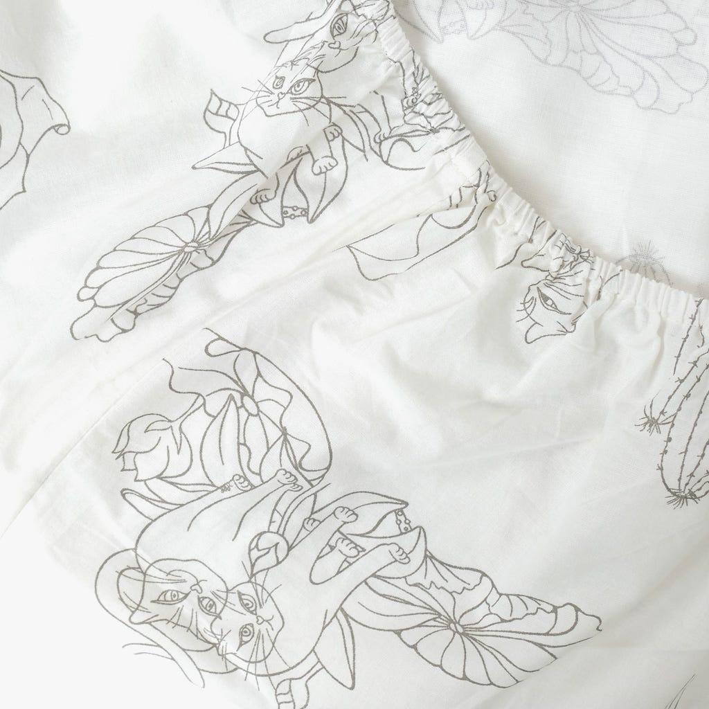 1 Saco de Edredão +1 Lençol + 1 Fronha F. & Love 140x200 cm