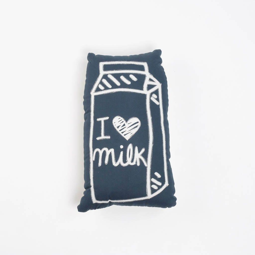 Cojín ABC Kids Milk 20x35 cm