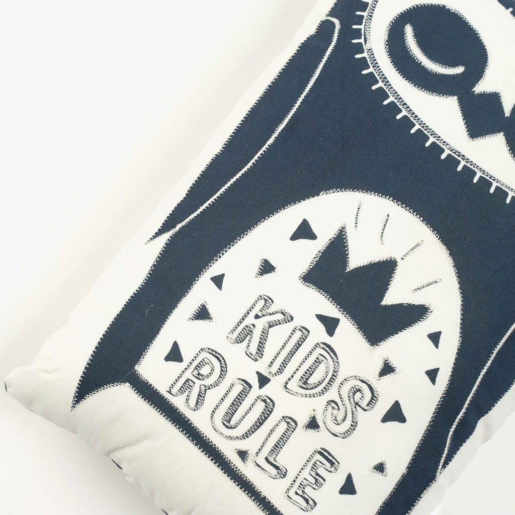 Cojín ABC Kids Rule 20x36 cm