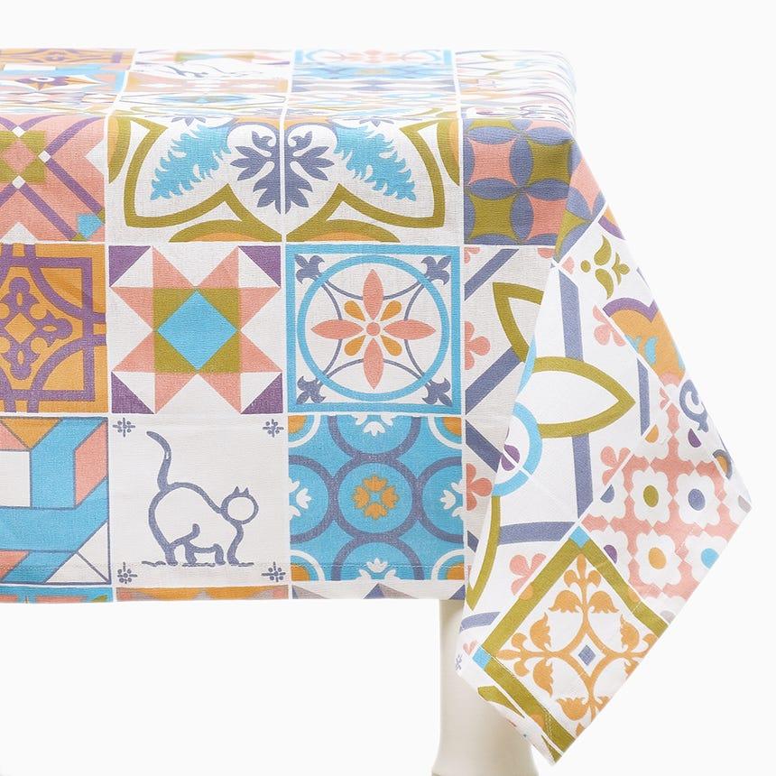 Toalha de Mesa 20Ties Remix 110x110 cm