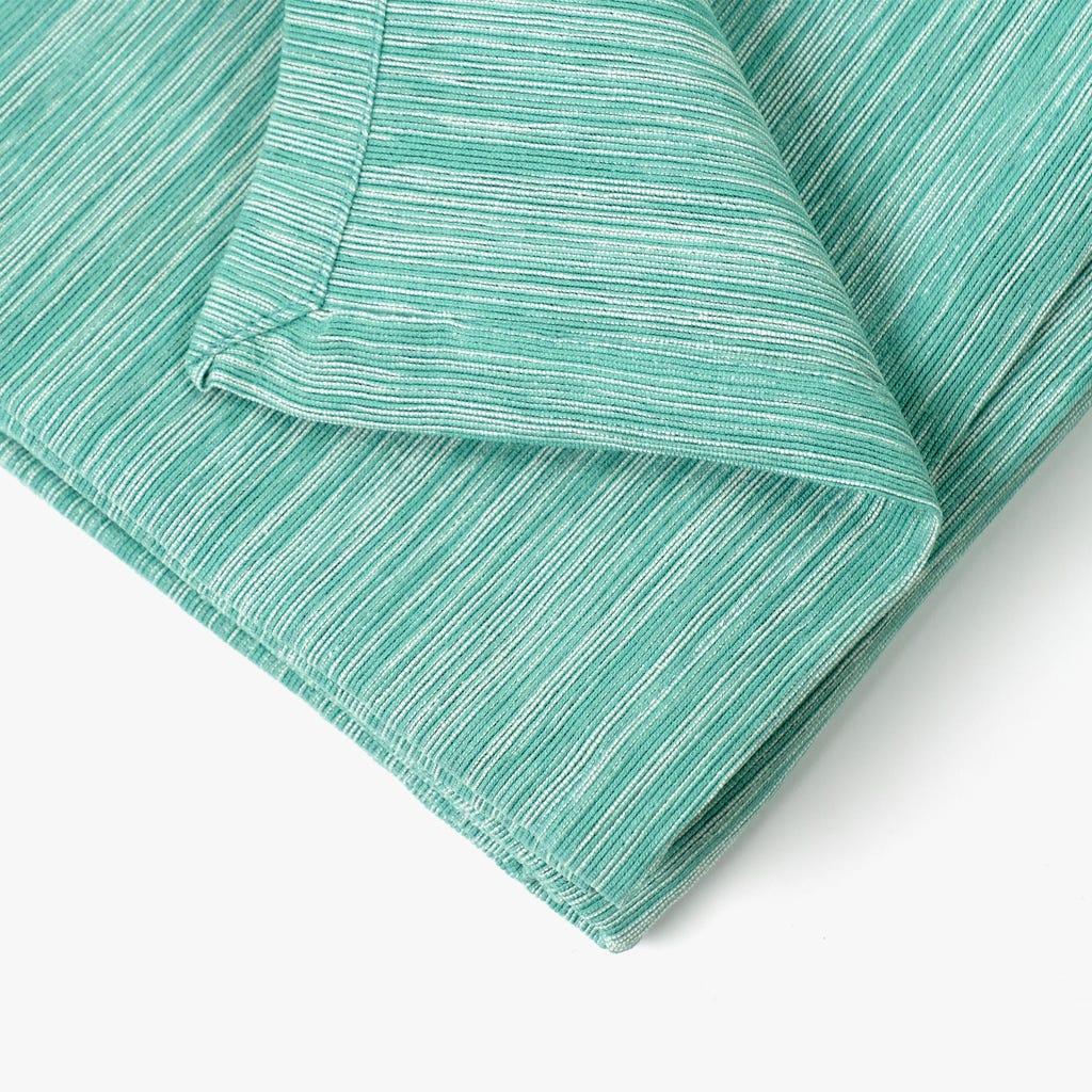 Colcha Verde e Natural 250x270 cm