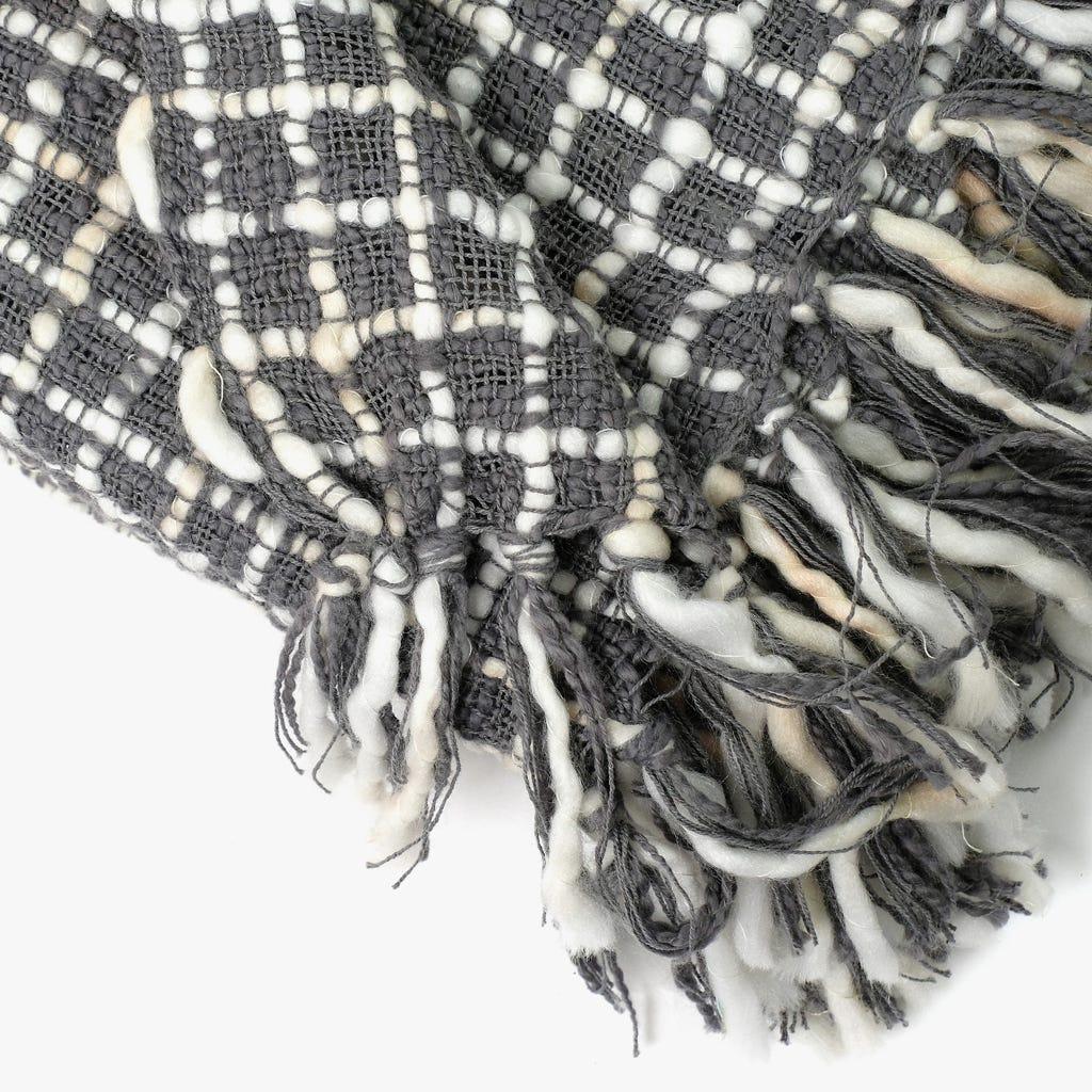 Manta Mescla Cinzento 125x150 cm