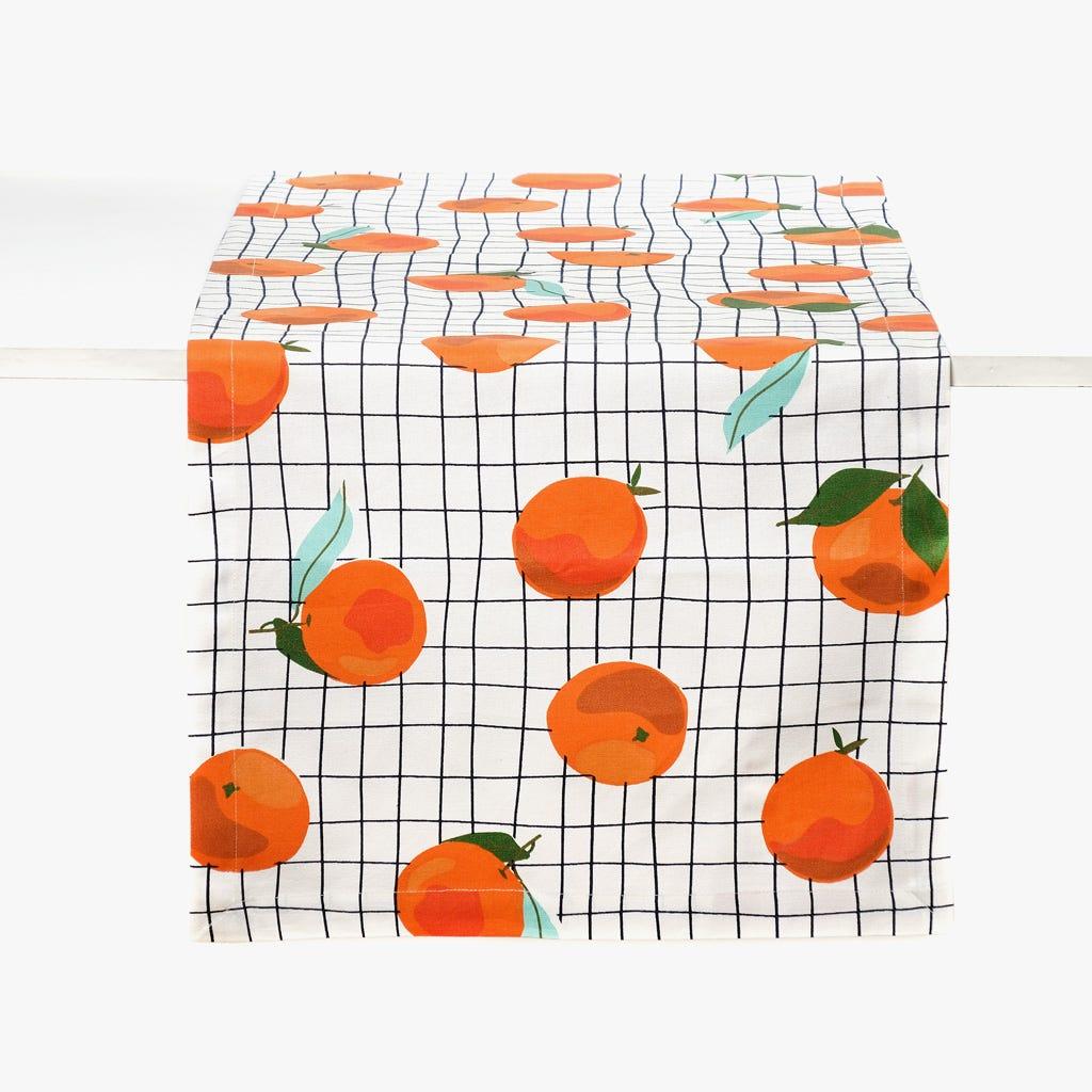 Camino de Mesa Naranjas 45x150 cm