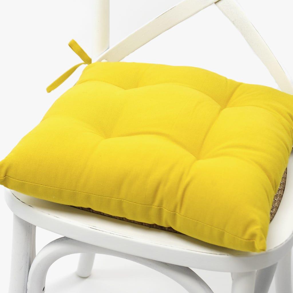 Almofada para Cadeira Açafrão 40x40 cm