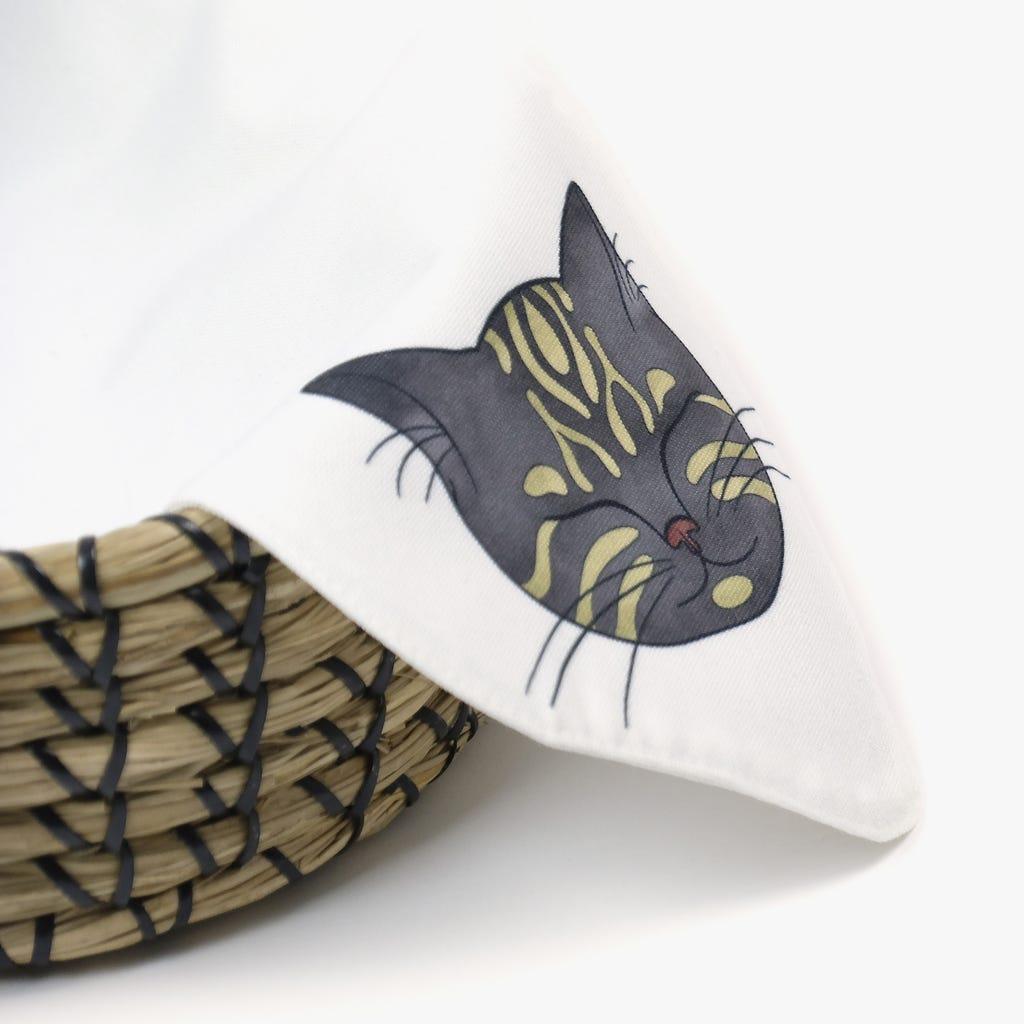Pano para cesto do pão Millennial Cats 45 cm