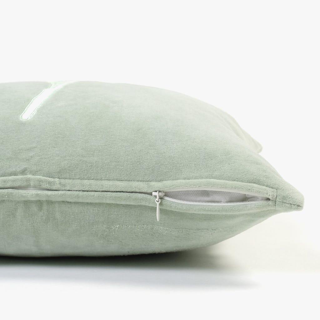Capa de Almofada Folha Verde 45x45 cm