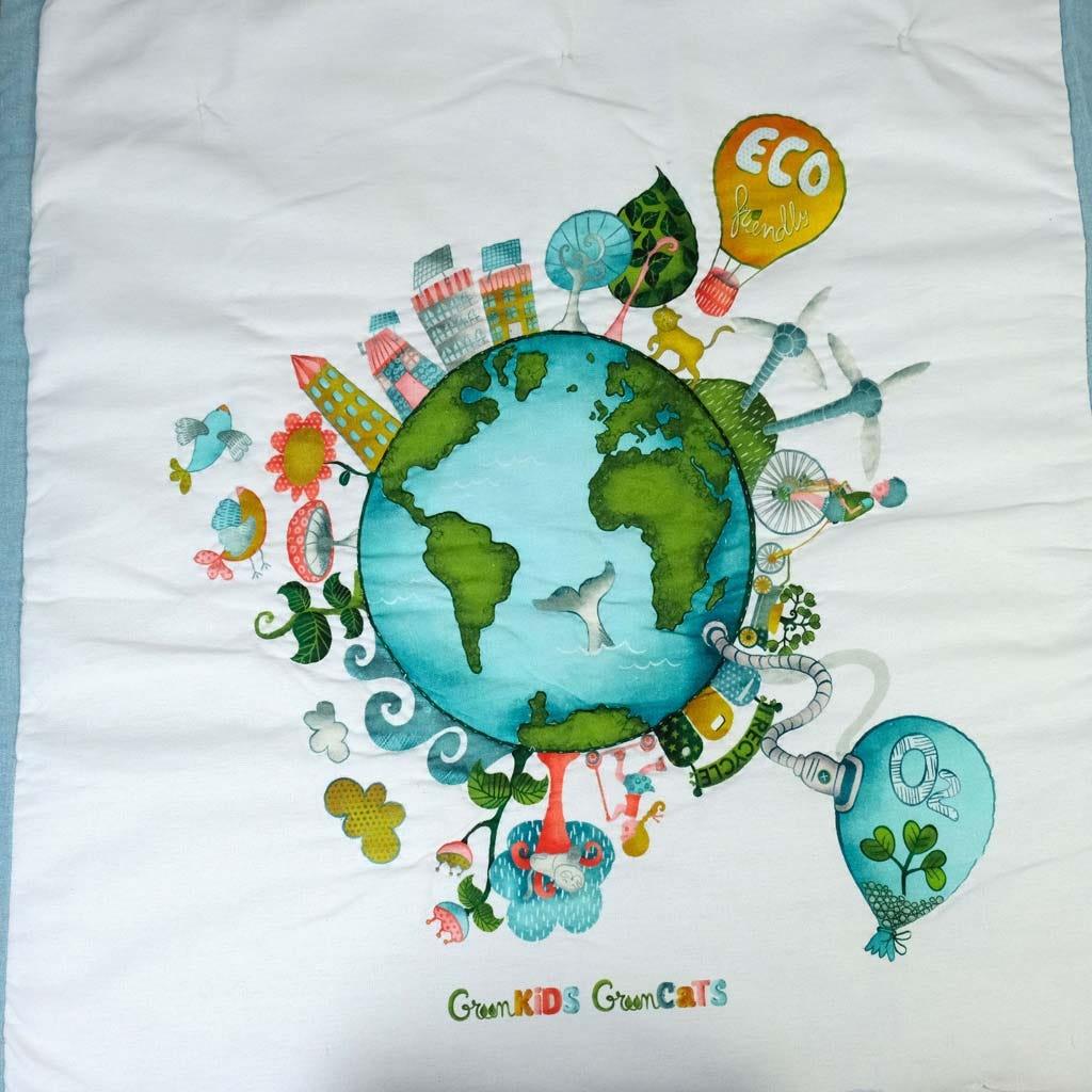 Edredão Green Kids 100x120 cm
