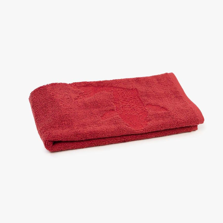 Pano turco Carpas Vermelho 45x50 cm