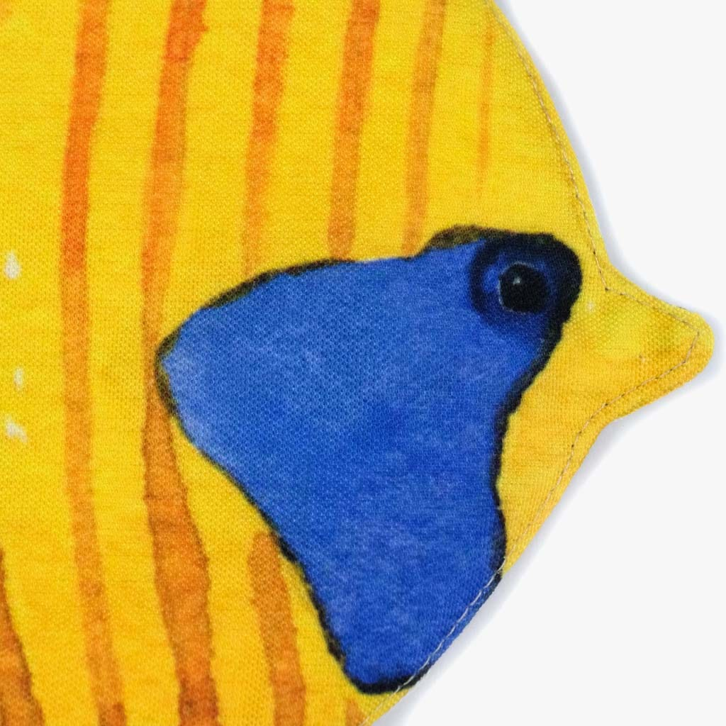 Pega Peixe borboleta Amarelo
