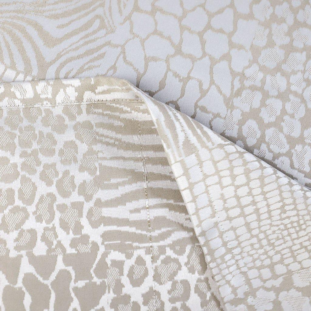 Toalha de Mesa Jungle Fever Champanhe 160x250 cm