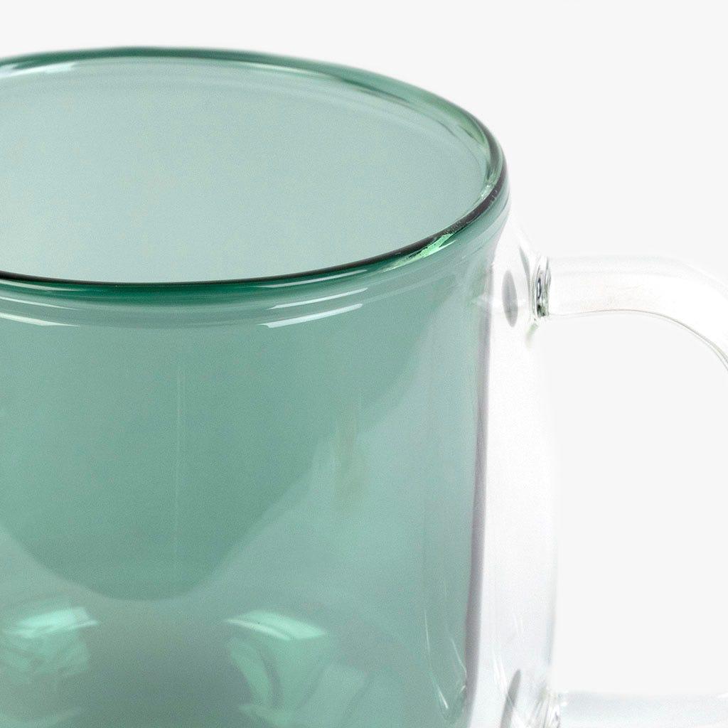 Caneca Vidro borossilicato Aqua