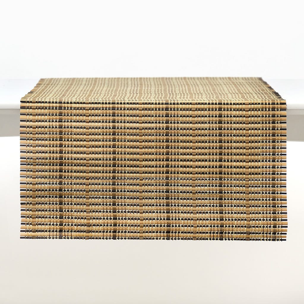 Runner Bambu Clássico Natural 40x120 cm