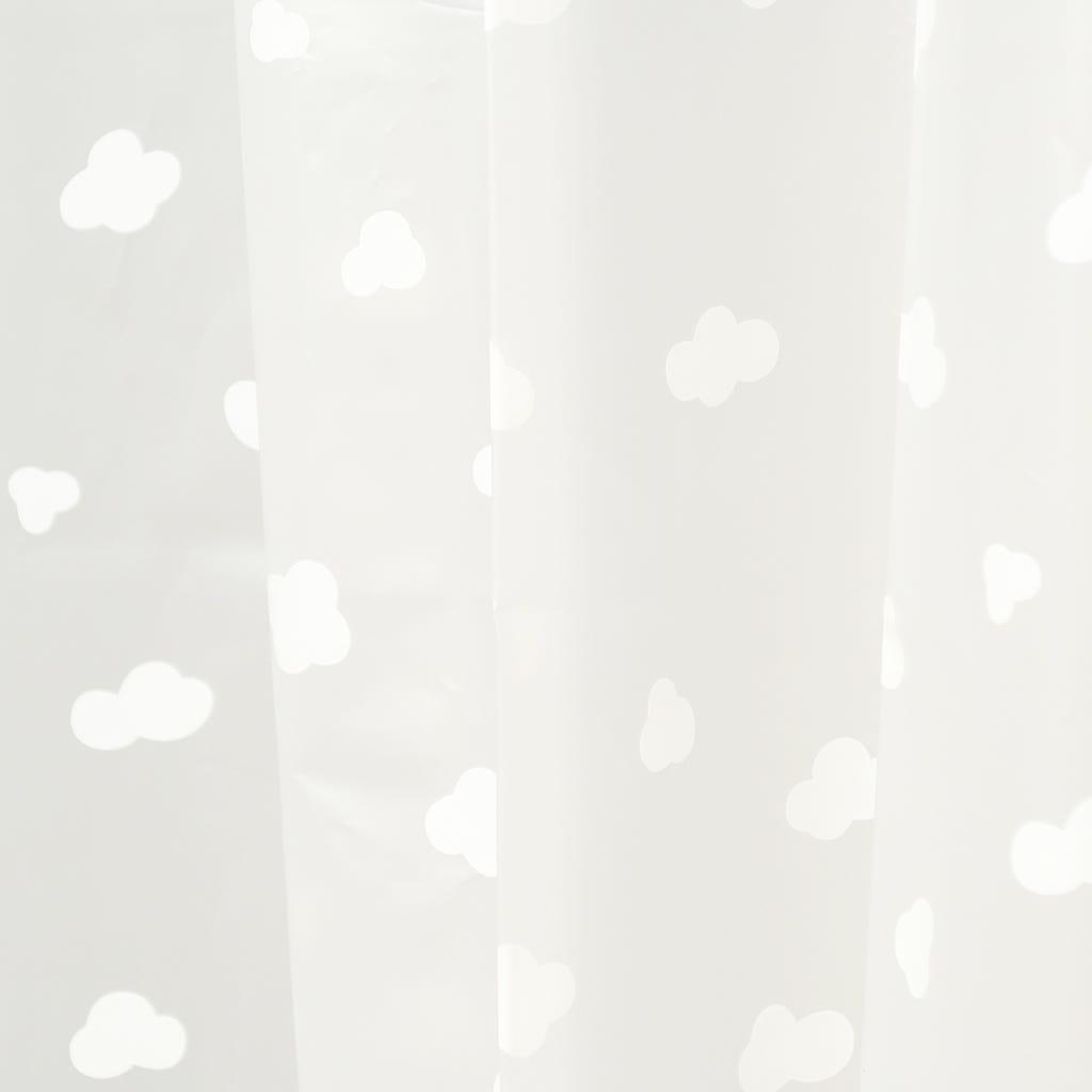 Cortina de Banho Nuvens 180x180 cm