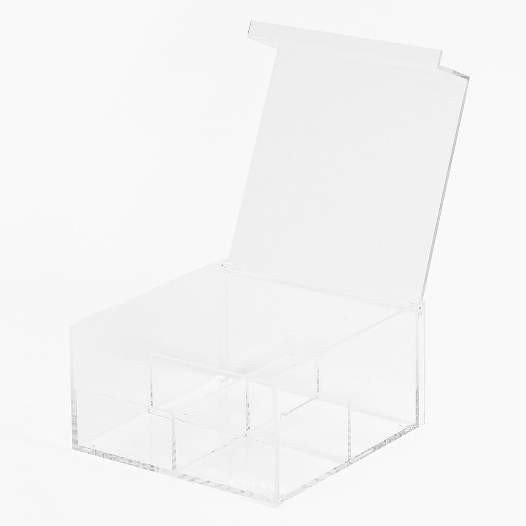 Boîte à thé (compartiments) Acrylique