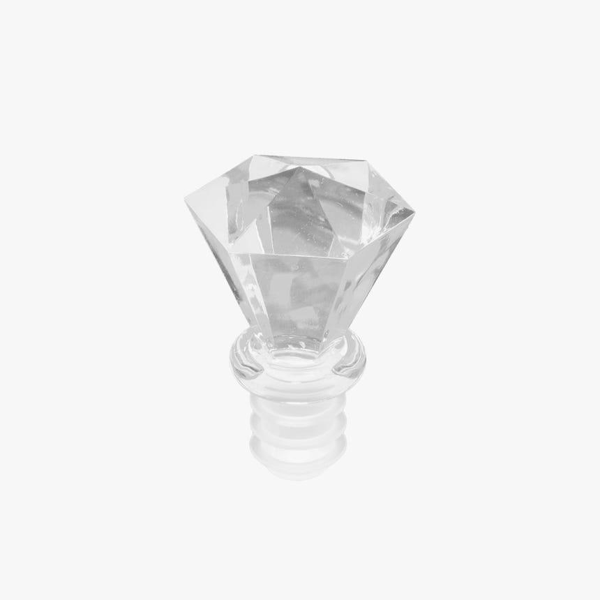 Rolha hermética Diamante lapidado