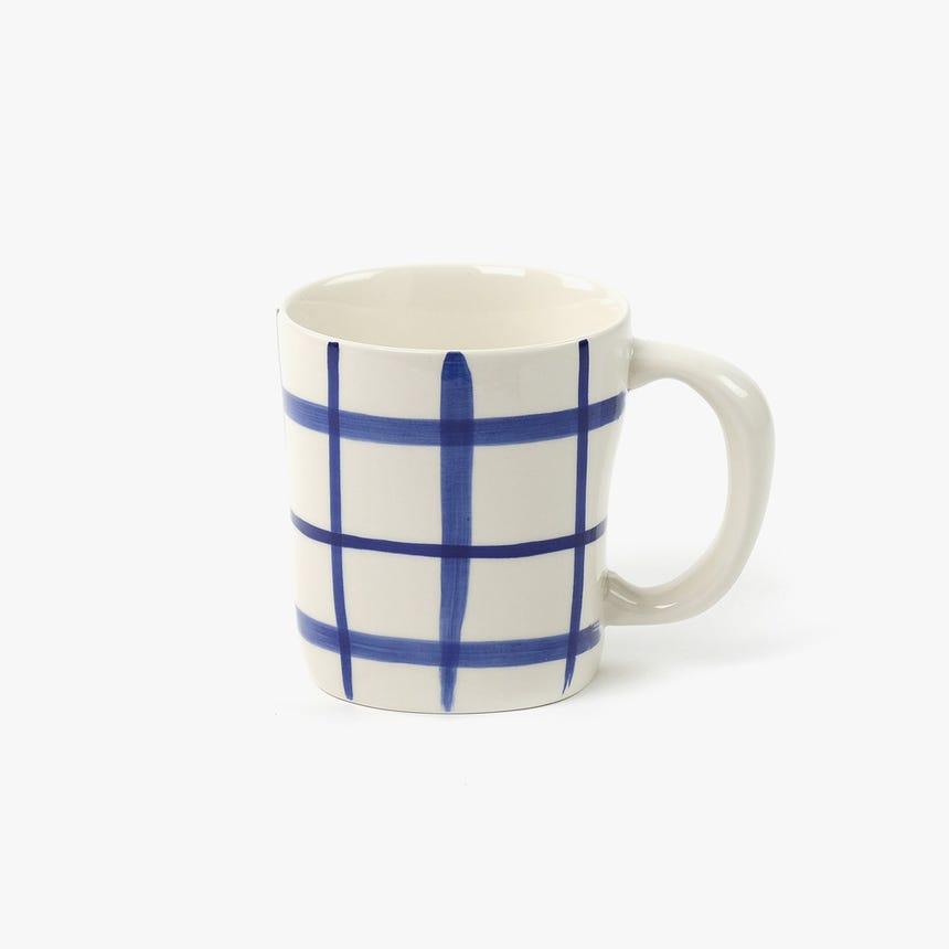 Caneca Quadrados Azul II