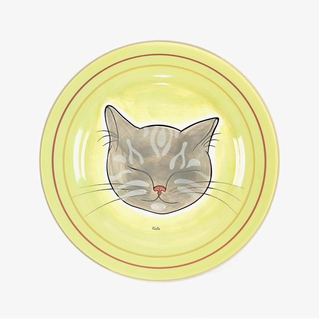 Prato Raso Millennial Cats Kioto 27,2 cm