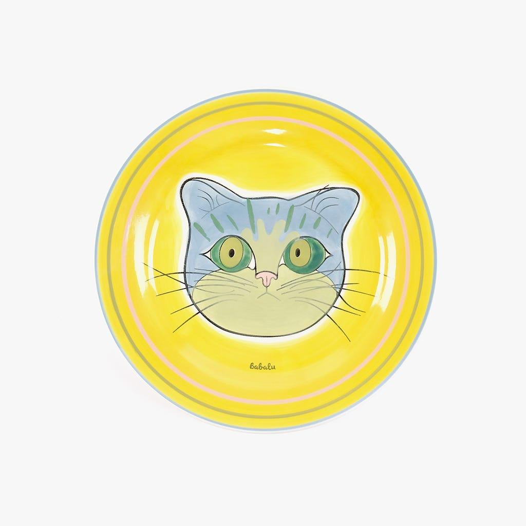 Prato de Sobremesa Millennial Cats Babalu 20,7 cm