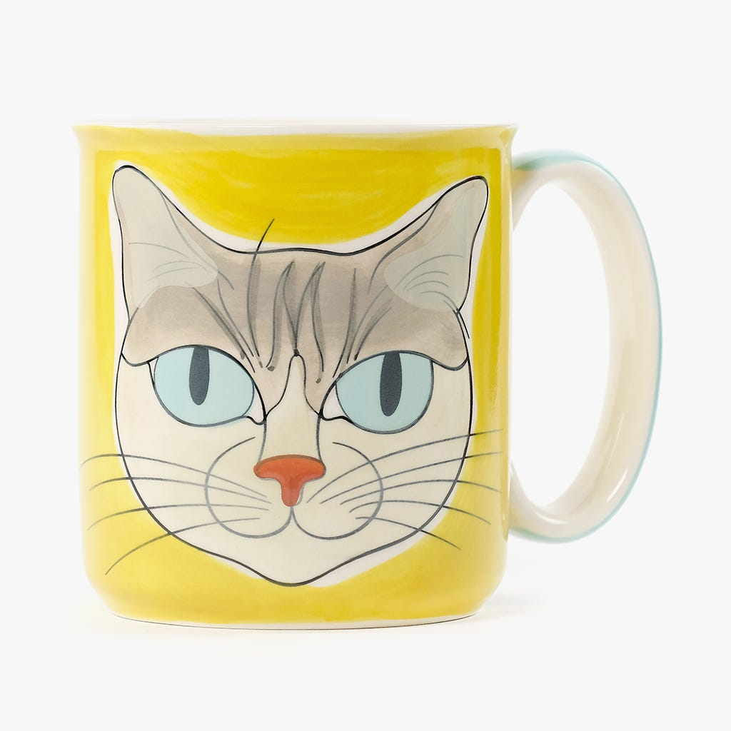 Caneca Millennial Cats Mateus 455 ml