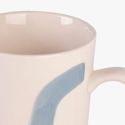 Caneca Sketch azul 500 ml